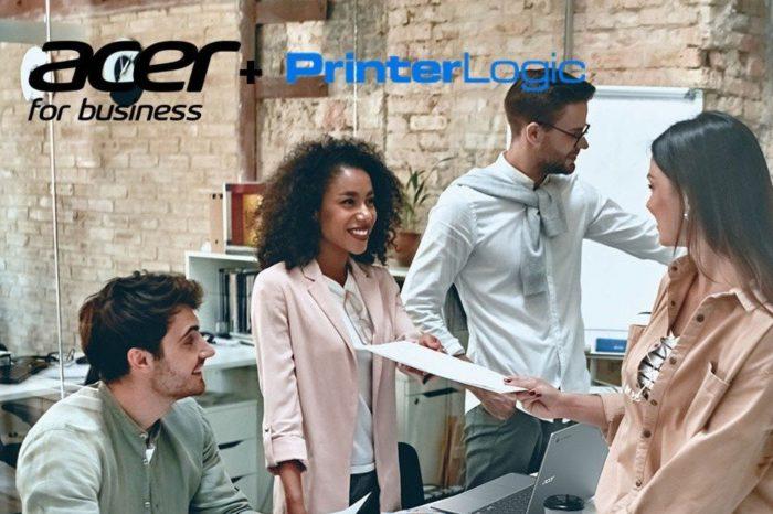 Acer i PrinterLogic łączą siły, aby dostarczyć klientom biznesowym z obszaru EMEA usługi łatwego drukowania opartego na chmurze.