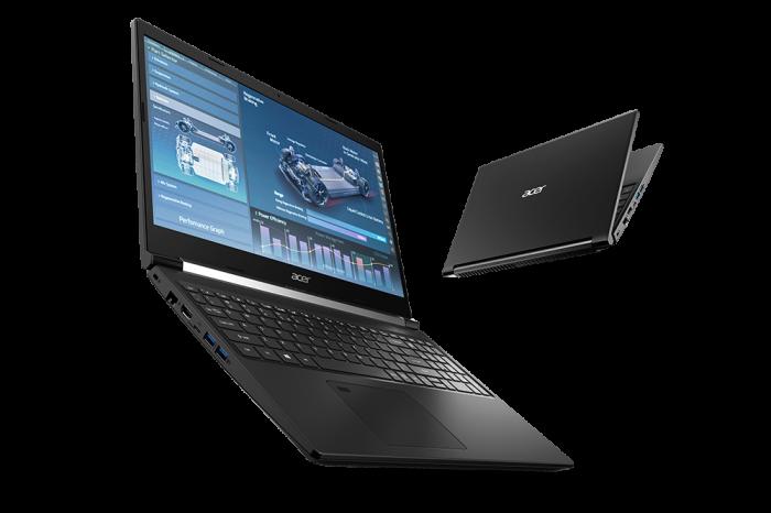 CES 2021: Nowy Acer Aspire 7 kontynuuje tradycję serii, łącząc całkiem mocny CPU i stonowany design z GPU GeForce GTX.