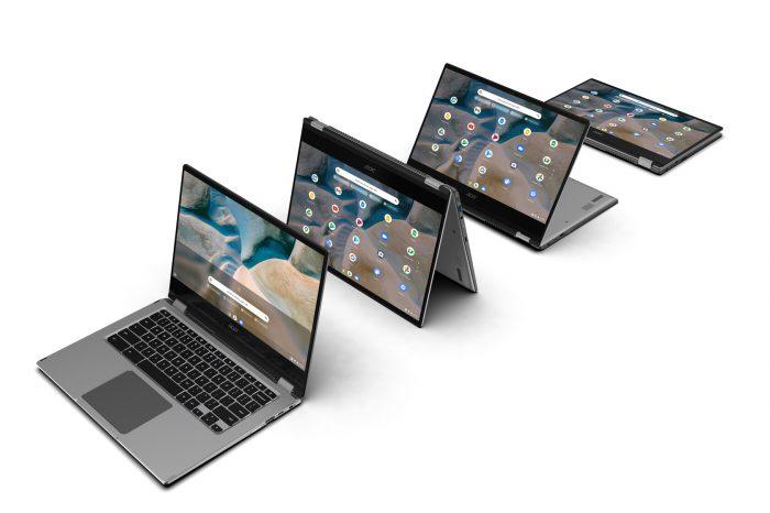 CES 2021: Acer wprowadza na rynek Chromebook Spin 514 - pierwszy Chromebook z układami APU AMD Ryzen 3000C.