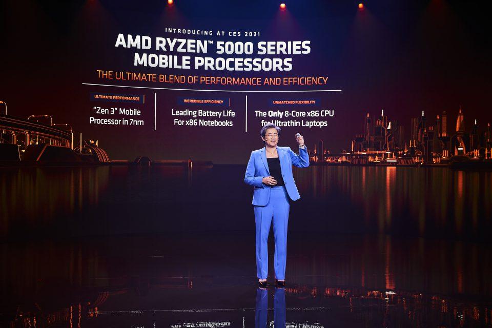CES 2021: AMD zaprezentowało nowe procesory Ryzen 5000 dla każdego segmentu notebooków - od lekkich i smukłych, po superwydajne mobilne stacje robocze i laptopy dla graczy.