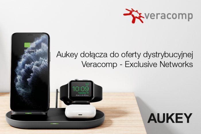 Veracomp – Exclusive Networks Poland rozpoczęło dystrybucję produktów firmy Aukey, rozszerzajac swoją ofertę w zakresie akcesoriów do urządzeń mobilnych.