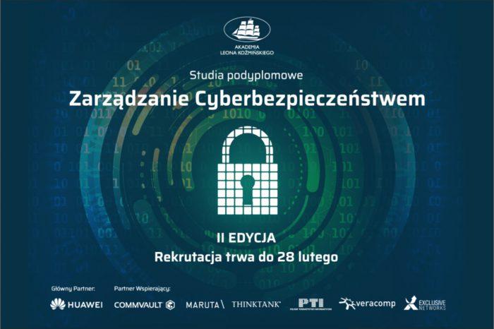 Chcesz zdobyć zawód przyszłości? Rusza kolejna edycja studiów podyplomowych na kierunku Zarządzanie Cyberbezpieczeństwem na Akademii Leona Koźmińskiego!