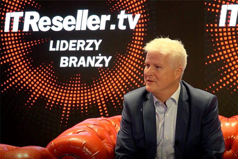 """""""Polska będzie drugim największym beneficjentem 5G w Europie"""" - mówi Martin Mellor, Country Manager Ericsson w Polsce, w programie """"Liderzy branży"""" IT Reseller TV."""