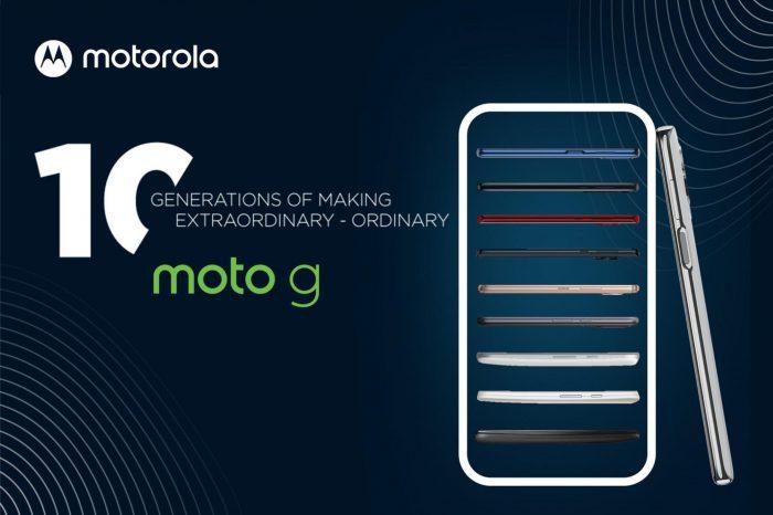 Innowacyjne funkcje i technologie najwyższej klasy dla wszystkich. Motorola świętuje 10 generacji smartfonów serii moto g, która zrewolucjonizowała branżę smartfonów, tworząc segment średniej półki cenowej.