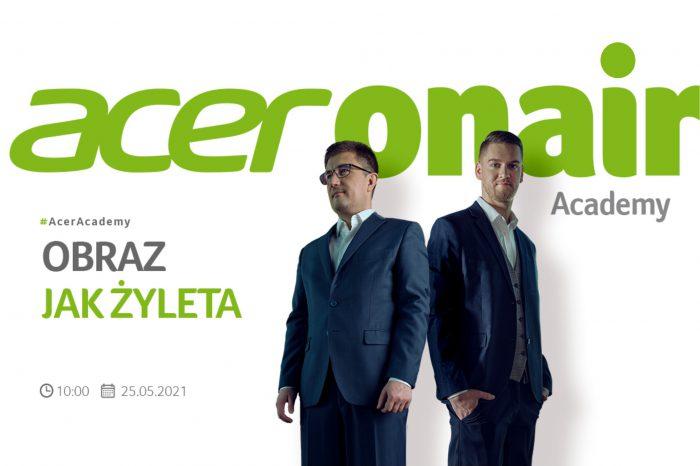 Obraz ostry jak żyleta? To możliwe! Acer zaprasza na webinar z nagrodami! Już jutro kolejny webinar z cyklu #AcerAcademy, a w nim najnowsze informacje o produktach ze świata projektorów Acer.