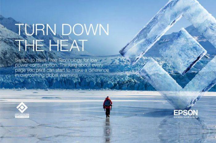 """Epson i National Geographic łączą siły, aby w ramach nowej kampanii """"Obniż temperaturę"""" promować ochronę wiecznej zmarzliny – zmrożonej warstwy ziemi obecnej w regionach podbiegunowych."""