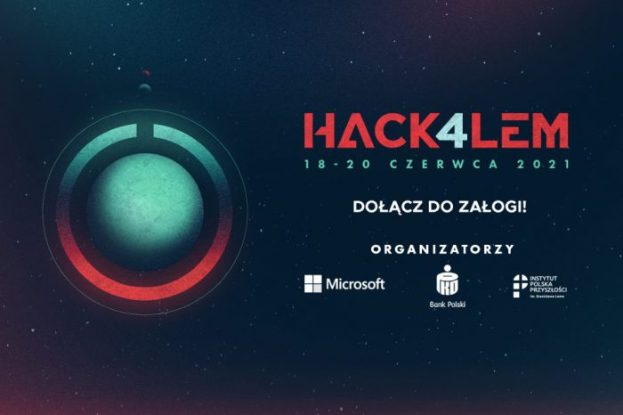 """Stwórz przyszłość, którą widział Stanisław Lem. Dołącz do maratonu programowania Hack4Lem. Już 18 czerwca astrogatorzy z całego świata wejdą na pokład """"Niezwyciężonego"""", aby zmienić wspólną przyszłość."""