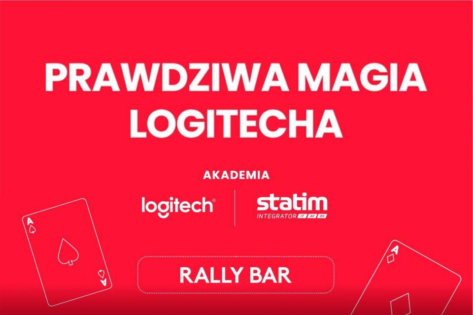 """Wystartowała Akademia Logitech i Statim Integrator """"PRAWDZIWA MAGIA LOGITECHA"""" w pierwszym odcinku z serii, bohaterem jest Logitech Rally Bar."""