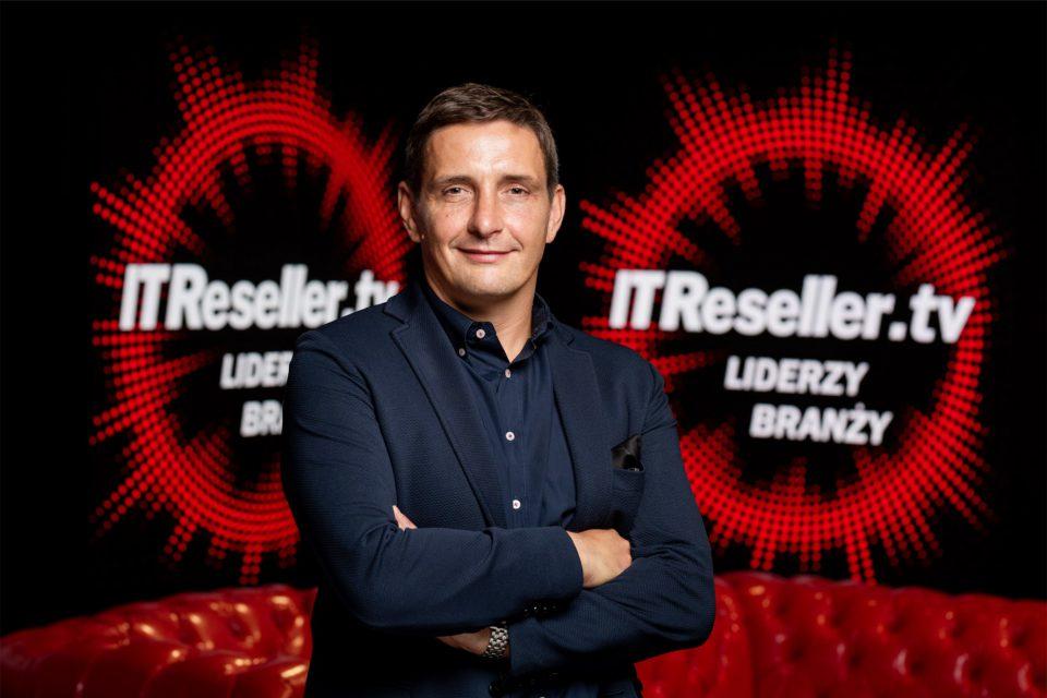 """""""To dla mnie wyzwanie i odpowiedzialność, które z entuzjazmem podejmuję.""""- podkreśla Wojciech Zaskórski, General Manager w Lenovo Polska w programie IT Reseller TV """"Liderzy Branży"""""""