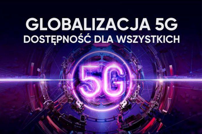 """""""Globalizacja 5G: Dostępność dla wszystkich"""" to hasło przewodnie szczytu 5G, współorganizowanego przez realme, GSMA, Qualcomm oraz Counterpoint - zapraszamy 3 czerwca o godzinie 11:00 (online)."""