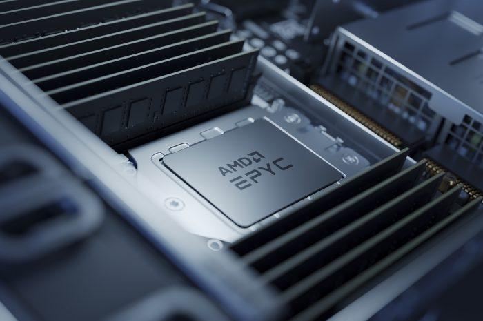 """W serwerowych procesorach AMD EPYC """"Genoa""""  pojawi się pamięć typu HBM. To może oznaczać skokowy wzrost pojemności pamięci podręcznej."""