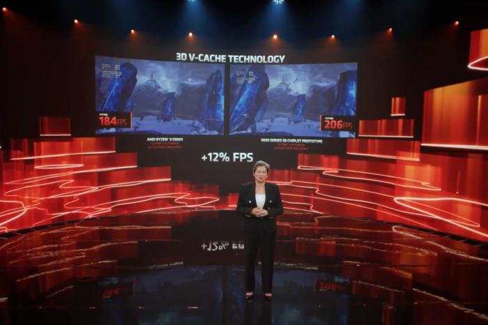 Computex 2021: AMD potwierdza, że przed układami Zen 4 zobaczymy układy budowane warstwowo - z pamięcią cache układaną w stosy.
