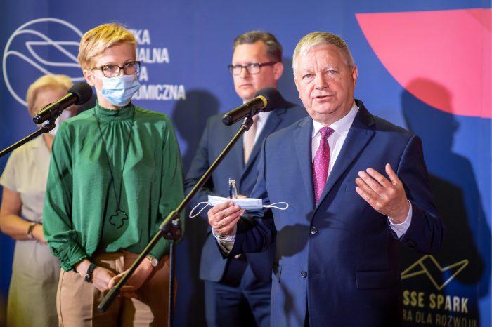 Współpraca startupów i inwestorów - 45 firm dołączyło do Łódzkiej Specjalnej Strefie Ekonomicznej, oficjalnie w Łódzkiej SSE zostało powitanych 26 inwestorów i 19 startupów.