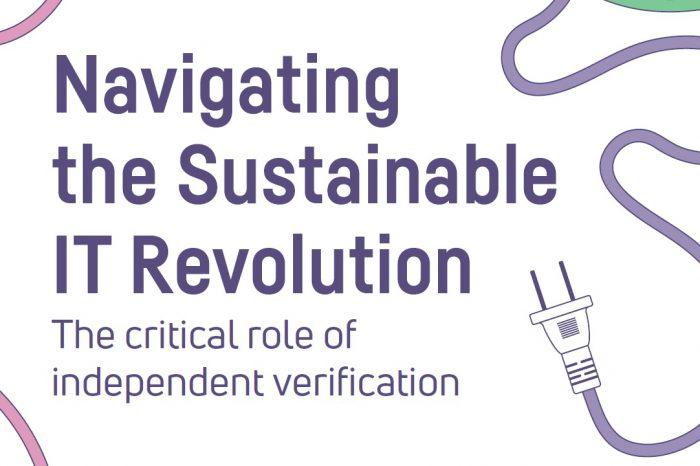 """Najnowszy raport TCO Development """"Zrównoważona Rewolucja IT, kluczowa rola niezależnej weryfikacji"""" zawiera ważne wskazówki, jak uniknąć ryzyka podczas zakupu sprzętu IT."""
