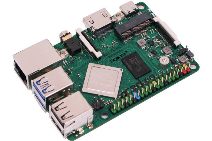 Alternatywa dla Raspberry Pi z dwoma slotami M.2 - Radxa ROCK 3A to nowy, jednopłytkowy komputer, który kosztuje grosze.