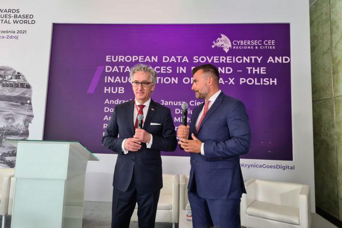 Placówka europejskiego projektu Gaia-X, na rzecz rozwoju technologii chmurowej powstanie w Polsce. Inauguracja polskiego hubu odbyła się podczas konferencji CYBERSEC 2021 w Krynicy-Zdrój.