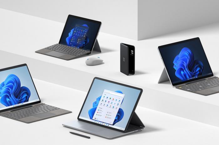 Microsoft pokazał nowe urządzenia z rodziny Surface oraz nowe akcesoria, w tym mysz rodem z... oceanu.